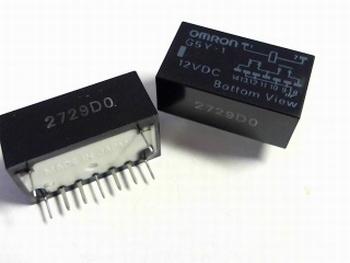 Omron relay G5Y1HDC12 DPDT