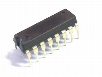 74HC serie IC - DIP version