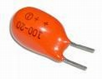 Tantal capacitor 6.8 uF 25 volts