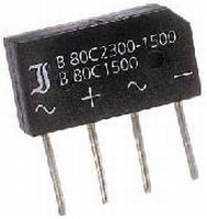 Bridge rectifier B40C5000 80V 3,3A
