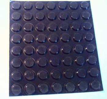 Rubber feet 56 pieces