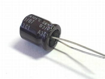 Electrolytic capacitor 4.7uF 350 volts