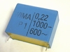 Condensator 0,22uF 20% 1000V