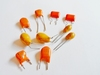 Tantal capacitor 10 uF 16 volts RM5