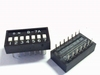 Dip switch 7 in 1 black