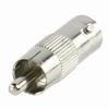 Tulp/RCA plug to BNC contra plug adapter
