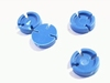 Mounting pad for TO-5  2,5mm high color blue