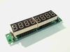 Digitaal LED display module met 8 cijfers MAX 7219