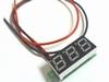 LED 0V-100V voltmeter tweedradig blauw display