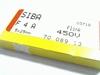 Zekering 4A 450V 5x25 SNEL