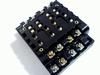 Relaisvoet HP4-SF voor HP4 4-polig relais met schroefcontact
