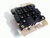 Relaisvoet HP3-SRS voor HP3 3-polig relais