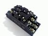 Relaisvoet HP2-SF voor HP2 2-polig relais met schroefcontact