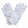 Antistatic ESD glove with finger skid resistance spot