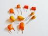 Tantal capacitor 10 uF 6.3 volts