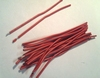 Set of 20 flexible copperwire red