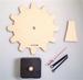 Building kit table clock gear