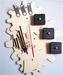 Assortment of three clock building kits gear
