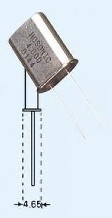 Quartz kristal HC18 - 15 mhz