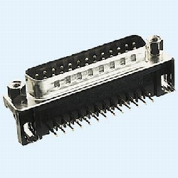 SUB-D Male connector 25 pins