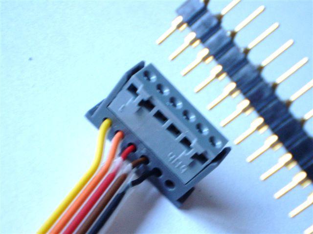 klemcontact met penconnectie 2.54 mm rm