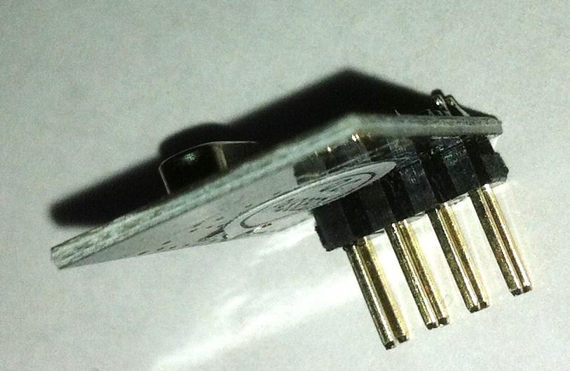 2,4 ghz transciever module achterkant