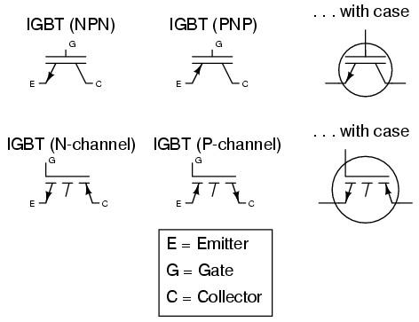 electronic symbol transistor hybrid
