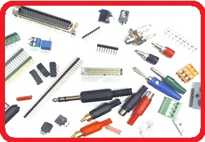 Varous electronics parts and components