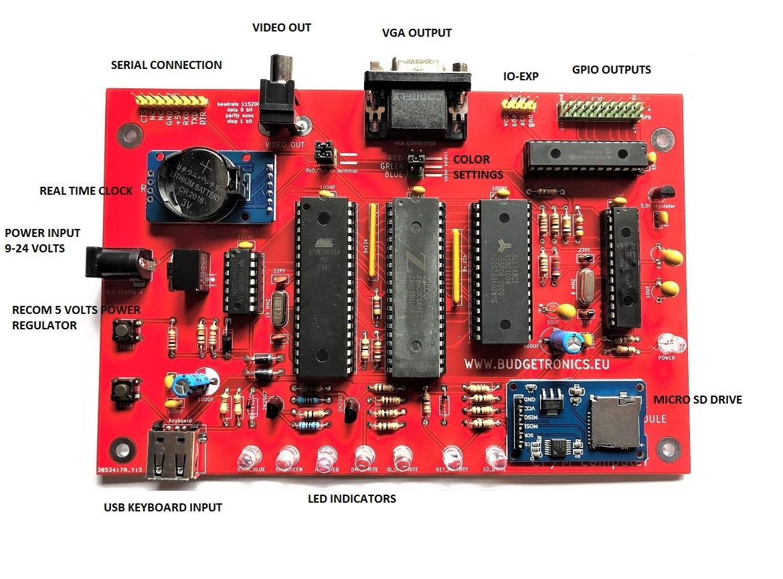 CP/M computer bouwpakket electronica
