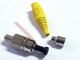 Fiber optics connectors