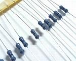 Resistors metal 0,25 Watt